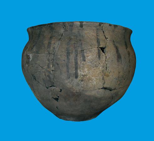 IJzertijd pot, Noordwijk. Bron: IDDS Archeologie.